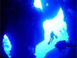 伊良部島の青い洞窟