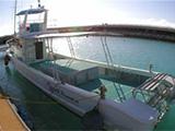 サンセットの景色とボート
