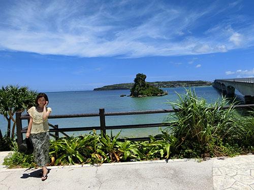 古宇利島が見える絶景スポット