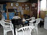 ショップ内のカフェ