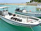 ショップ保有のボート