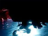幻想的な海中