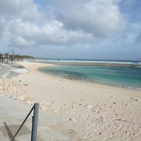 わいわいビーチと海
