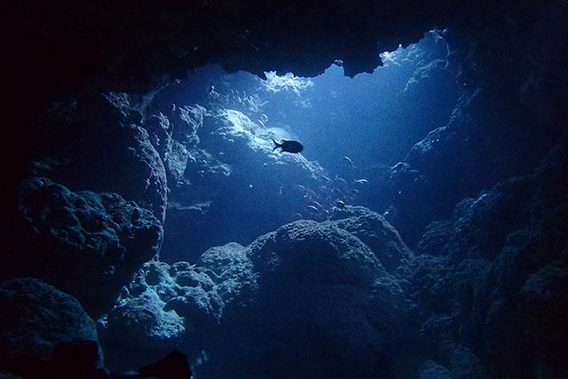 洞窟風の簡単ポイント