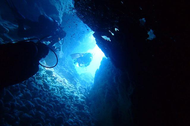 簡単にチャレンジできる洞窟