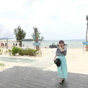 かりゆしビーチ全景
