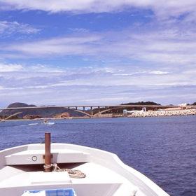 慶良間諸島に向かうボート