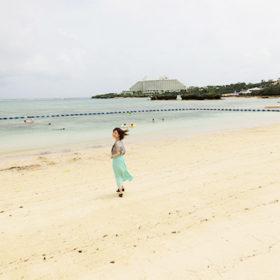 ナビービーチの遊泳区域