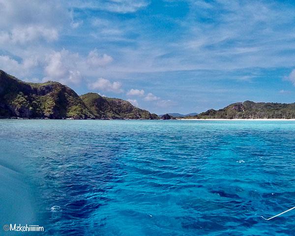 慶良間諸島と青い海