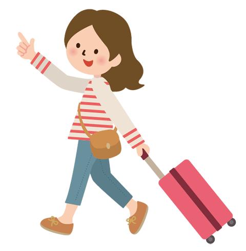 旅行に出発