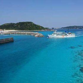 阿嘉島とケラマブルー