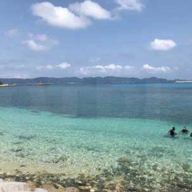 赤島の真謝ビーチ
