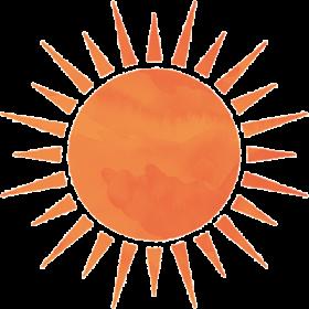 ガンガン照る太陽