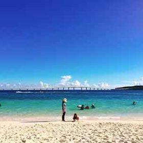 前浜ビーチの絶景